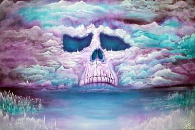 Fantasy Painting - Spirit Of Dawn by Laura Barbosa
