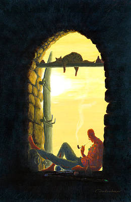 Exit Painting - Spirit Of Exit by Dmitry Rezchikov