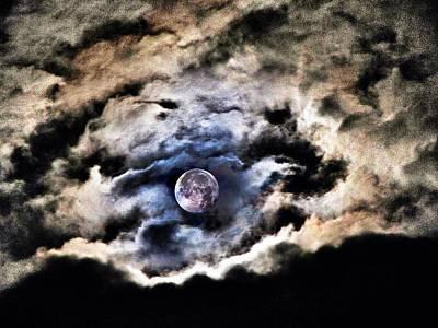 Spirits Of The Night Print by Marianna Mills