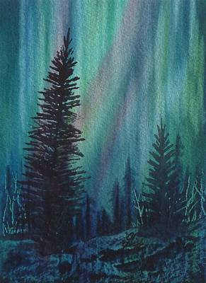 Arbres Verts Painting - Spirits Rising by Gigi Dequanne