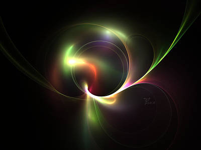 Imaginitive Digital Art - Spiritual Energy by Peter Chasse