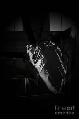 Spitfire Photograph - Dark Spitfire by J Biggadike