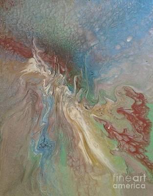 Splash Print by Affordable Art Halsey