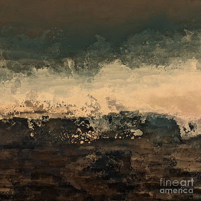 One Of A Kind Painting - Distant Splash by Lonnie Christopher