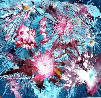 Surreal Painting - Splash by Sumit Mehndiratta