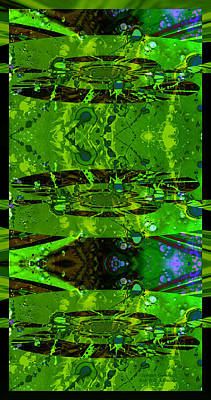 Huge Assemblage Photograph - Splatter Galaxy by Robert Kernodle