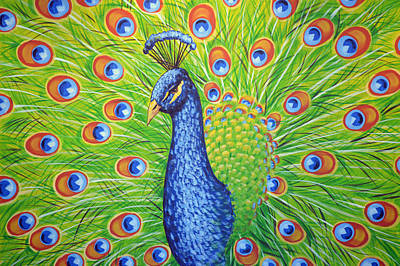 Birds Painting - Splendor by Amy Giacomelli