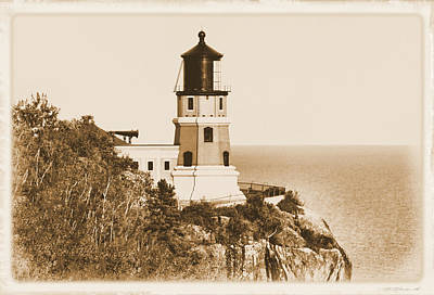 Split Rock Lighthouse Print by Kristin Elmquist