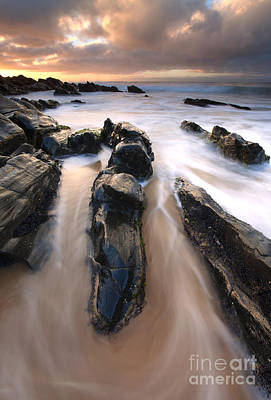Australia Photograph - Splitting The Rocks by Mike  Dawson