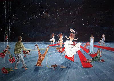 Spontaneous Gallantry Original by Lazaro Hurtado
