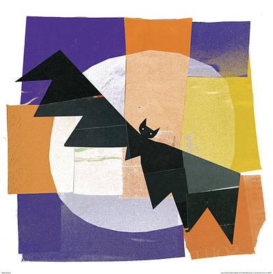 Bat Painting - Spooks Iv by Michael Mullan
