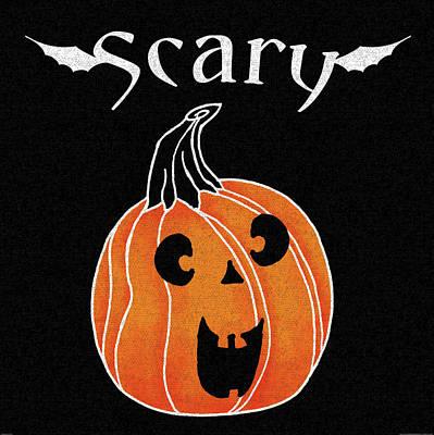 Halloween Painting - Spooky Jack O Lantern Iv by Elyse Deneige