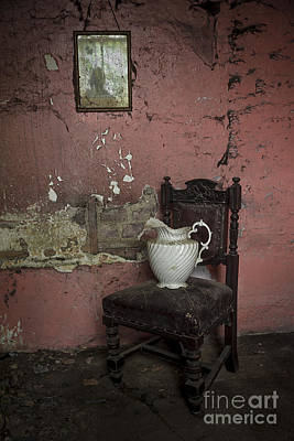 Empty Chairs Photograph - Spooky Room by Svetlana Sewell