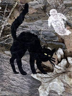 Spooky  Scene Original by William  Bennett