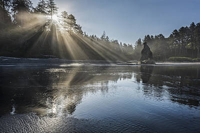Spoon Of Morning Light Print by Jon Glaser