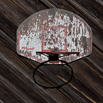 Sports - Basketball Hoop Print by Art Block Collections