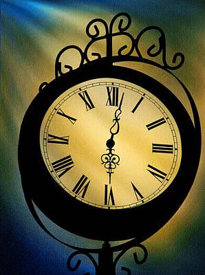 Spotlight On Time Print by Mike Flynn