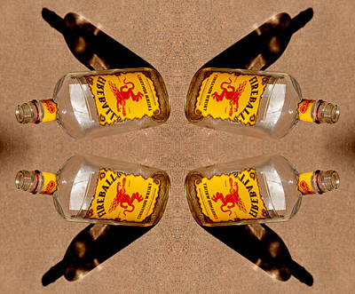 Repetition Photograph - Spots Of Whiskey Axis 2013 by James Warren