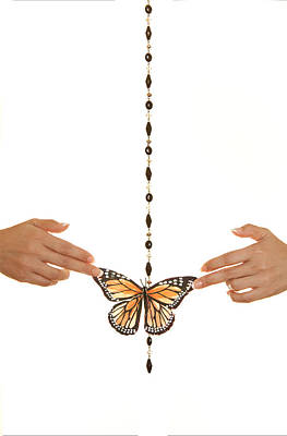 Spread Your Butterfly Wings Print by Dario Infini