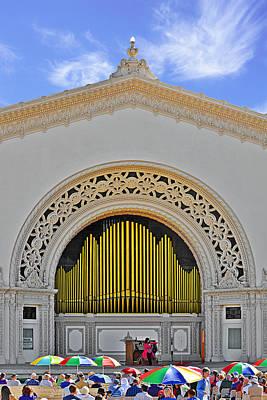 Instrument Photograph - Spreckles Organ San Diego by Christine Till