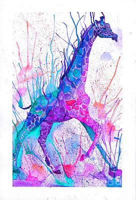 Sprightly Giant Print by Hannah Circenis