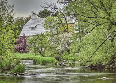 Spring Scenery Photograph - Spring Arrives At The Rose Farm by Thomas Young