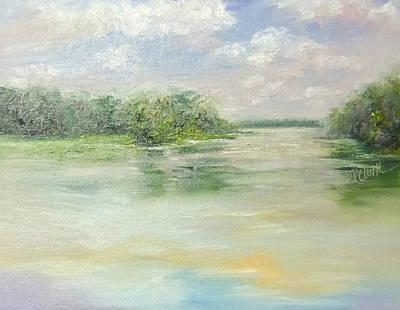 Blackhawk Painting - Spring At Blackhawk by Donna Pierce-Clark