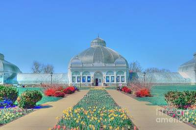 Spring At The Gardens Print by Kathleen Struckle