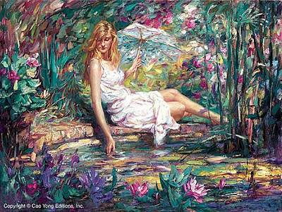 E 20 Painting - Spring Beauty by Cao Yong