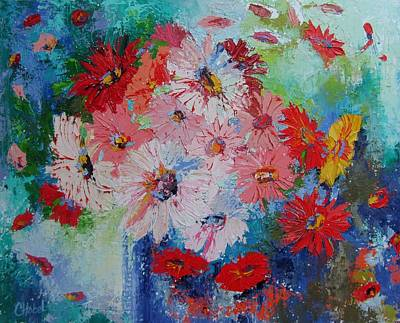 Painting - Spring Bouquet by Chris Hobel