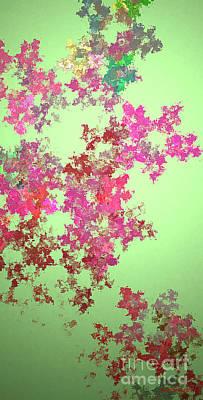 Spring Bouquet  Print by Tatjana Popovska