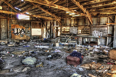 Mess Photograph - Spring Cleaning by Eddie Yerkish