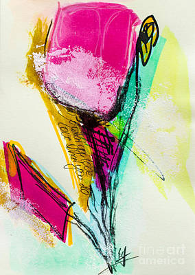Fineart Mixed Media - Spring Colours by VIAINA Visual Artist
