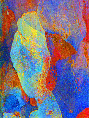Fantasy Bark Photograph - Spring Eucalypt Abstract 13 by Margaret Saheed
