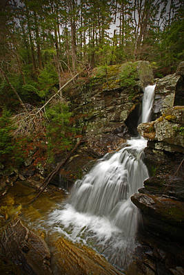 Kent Connecticut Photograph - Spring Falls by Karol Livote