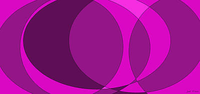 Artwork Painting - Spring Fashion 2015 The Purple Gift by Sir Josef Social Critic - ART