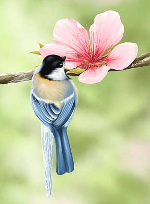 Beak Painting - Spring Fever by Veronica Minozzi