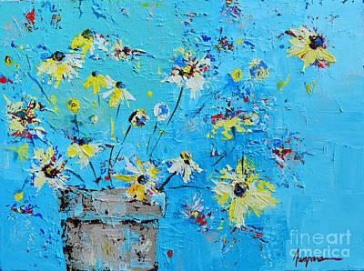 Margarita Painting - Spring Flowers by Patricia Awapara