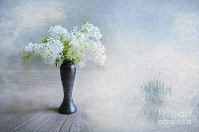 Atmospheric Digital Art - Spring Flowers by Veikko Suikkanen