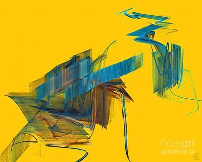 Artport Digital Art - Spring Force by Jeanne Liander