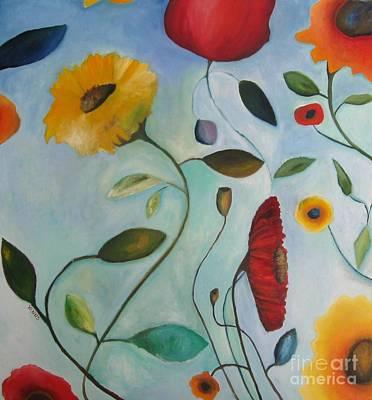 Painting - Spring Garden by Venus