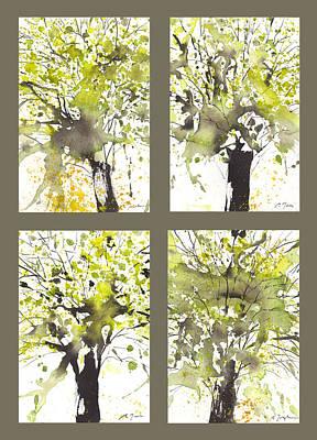 Spring Green Print by Sumiyo Toribe