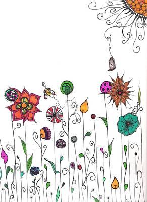 Spring Has Sprung Print by Lori Thompson