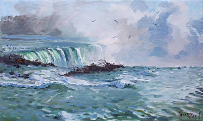 Spring In Niagara Falls Original by Ylli Haruni
