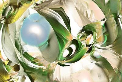Fractals Digital Art - Spring Is Coming by Anastasiya Malakhova