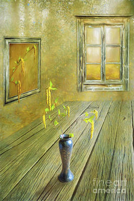 Leave Painting - Spring Is Coming by Veikko Suikkanen