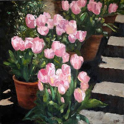 Spring Is Here 1 Print by Olga Yug