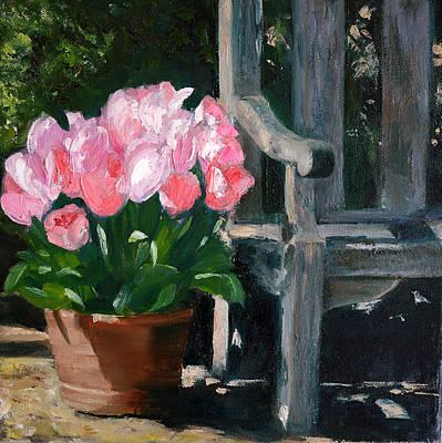Spring Is Here 2 Print by Olga Yug