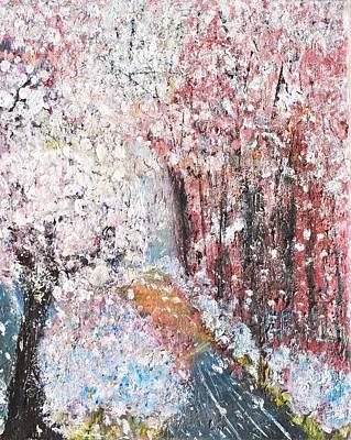Spring Landscape Print by Evelina Popilian