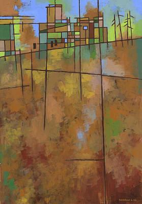 Earthtones Painting - Spring Melt by Douglas Simonson
